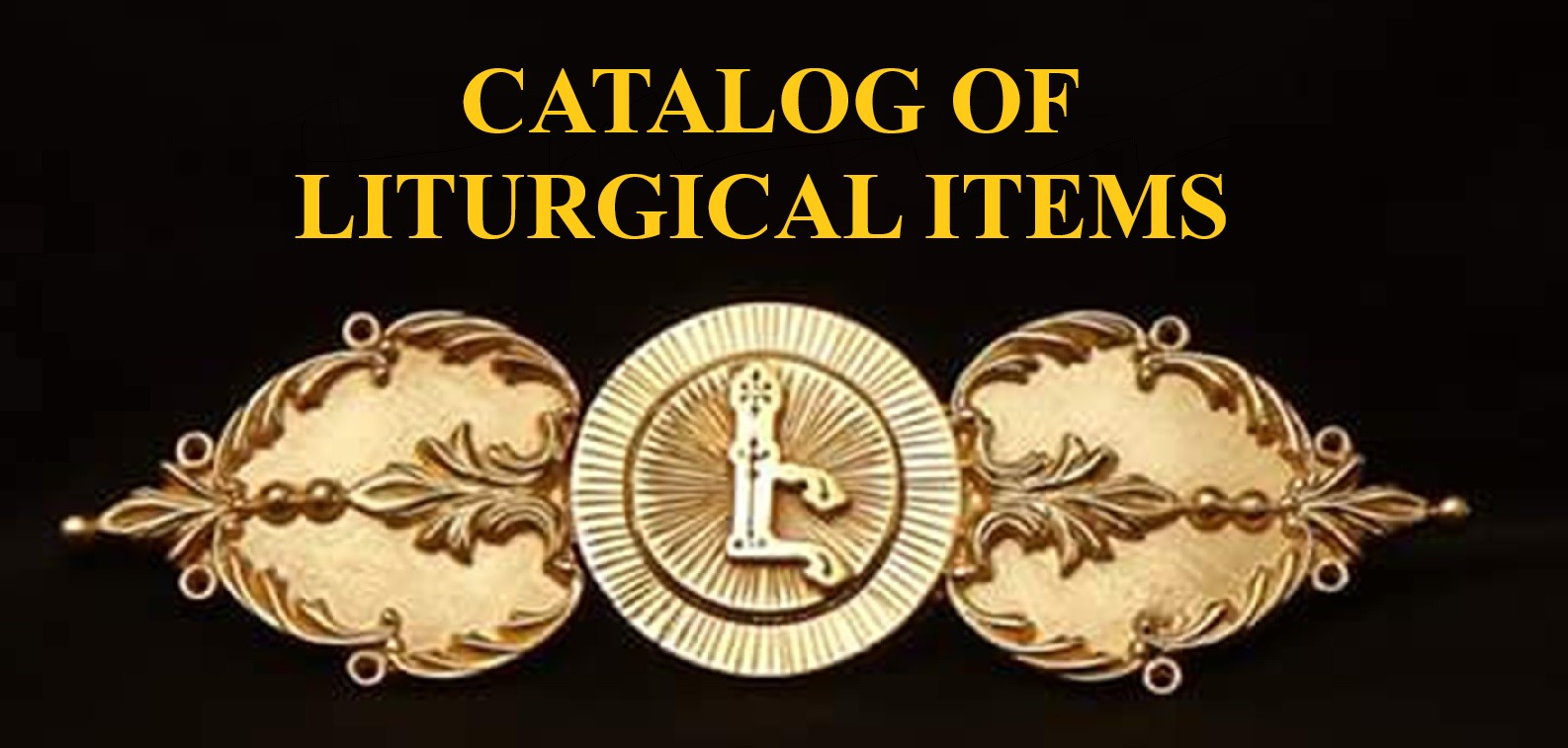 Catalog of liturgical items